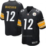 Camiseta Pittsburgh Steelers Bradshaw Negro Nike Game NFL Nino