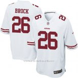 Camiseta San Francisco 49ers Brock Blanco Nike Game NFL Nino