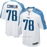 Camiseta Tennessee Titans Conklin Blanco Nike Game NFL Hombre