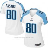 Camiseta Tennessee Titans Fasano Blanco Nike Game NFL Mujer