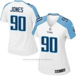 Camiseta Tennessee Titans Jones Blanco Nike Game NFL Mujer
