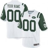 Camisetas NFL Limited Hombre New York Jets Personalizada Blanco