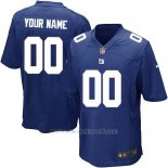 Camisetas NFL Limited Nino New York Giants Personalizada Azul