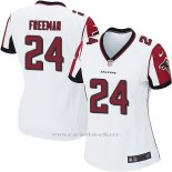 Camiseta Atlanta Falcons Freeman Blanco Nike Game NFL Mujer