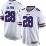 Camiseta Buffalo Bills Darby Blanco Nike Game NFL Hombre