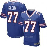 Camiseta Buffalo Bills Glenn Azul Nike Elite NFL Hombre