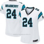 Camiseta Carolina Panthers Bradberry Blanco Nike Game NFL Mujer