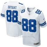 Camiseta Dallas Cowboys Bryant Blanco Nike Elite NFL Hombre