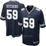 Camiseta Dallas Cowboys Hitchens Negro Nike Game NFL Nino