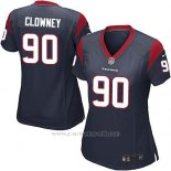 Camiseta Houston Texans Clowney Negro Nike Game NFL Mujer