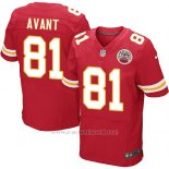 Camiseta Kansas City Chiefs Avant Rojo Nike Elite NFL Hombre