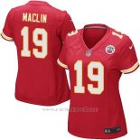 Camiseta Kansas City Chiefs Montana Rojo Nike Game NFL Mujer