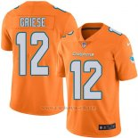 Camiseta Miami Dolphins Griese Naranja Nike Legend NFL Hombre