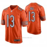 Camiseta NFL Game Hombre Chicago Bears Marvin Hall Naranja