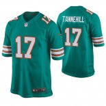 Camiseta NFL Game Hombre Dolphins Ryan Tannehill Throwback Verde