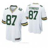 Camiseta NFL Game Hombre Green Bay Packers Jace Sternberger Blanco