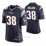 Camiseta NFL Game Hombre New England Patriots Brandon Bolden Azul
