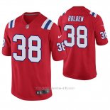 Camiseta NFL Game Hombre New England Patriots Brandon Bolden Rojo