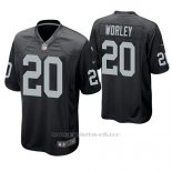 Camiseta NFL Game Hombre Oakland Raiders Daryl Worley Negro