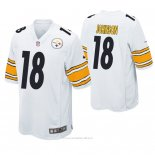 Camiseta NFL Game Hombre Pittsburgh Steelers Diontae Johnson Blanco