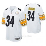Camiseta NFL Game Hombre Pittsburgh Steelers Terrell Edmunds Blanco