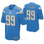 Camiseta NFL Game Hombre San Diego Chargers Jerry Tillery Azul