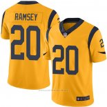 Camiseta NFL Game Los Angeles Rams 20 Jalen Ramsey Oro