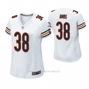 Camiseta NFL Game Mujer Chicago Bears Adrian Amos Blanco