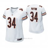 Camiseta NFL Game Mujer Chicago Bears Walter Payton Blanco