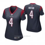 Camiseta NFL Game Mujer Houston Texans Deshaun Watson Azul