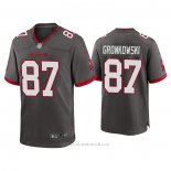 Camiseta NFL Game Tampa Bay Buccaneers Rob Gronkowski Alterno Gris