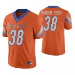Camiseta NFL Hombre NCAA Boise State Broncos Leighton Vander Esch College Football Naranja