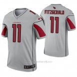 Camiseta NFL Legend Hombre Arizona Cardinals 11 Larry Fitzgerald Inverted Gris