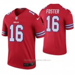 Camiseta NFL Legend Hombre Buffalo Bills Robert Foster Rojo Color Rush
