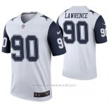 Camiseta NFL Legend Hombre Dallas Cowboys Demarcus Lawrence Blanco Color Rush