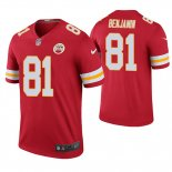 Camiseta NFL Legend Hombre Kansas City Chiefs Kelvin Benjamin Rojo Color Rush