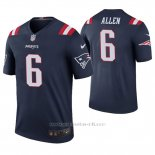 Camiseta NFL Legend Hombre New England Patriots Ryan Allen Azul Color Rush