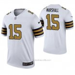 Camiseta NFL Legend Hombre New Orleans Saints Brandon Marshall Blanco Color Rush