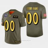 Camiseta NFL Limited Baltimore Ravens Personalizada 2019 Salute To Service Verde