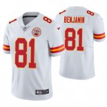 Camiseta NFL Limited Hombre Chiefs Kelvin Benjamin White Vapor Untouchable Limited Jersey