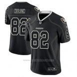 Camiseta NFL Limited Hombre Oakland Raiders Jordy Nelson Negro Color Rush 2018 Lights Out