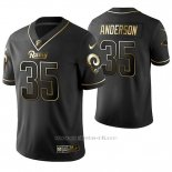 Camiseta NFL Limited Hombre St Louis Rams C.j. Anderson Golden Edition Negro