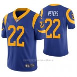 Camiseta NFL Limited Hombre St Louis Rams Marcus Peters Azul Vapor Untouchable