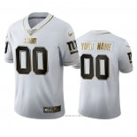 Camiseta NFL Limited New York Giants Personalizada Golden Edition Blanco