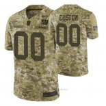 Camiseta NFL Limited New York Giants Personalizada Salute To Service Verde