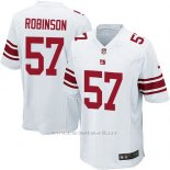 Camiseta New York Giants Robinson Blanco Nike Game NFL Nino
