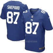 Camiseta New York Giants Shepard Azul Nike Elite NFL Hombre