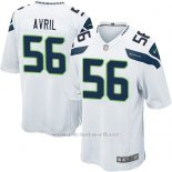 Camiseta Seattle Seahawks Avril Blanco Nike Game NFL Hombre