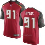 Camiseta Tampa Bay Buccaneers Ayers Rojo Nike Game NFL Hombre