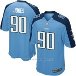 Camiseta Tennessee Titans Jones Azul Nike Game NFL Nino